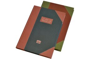 ADDRESS BOOK CLASSIC 2000 17x25cm 196 PAGES